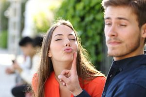 man stops woman trying to kiss him should know about Malegenix and its benefits