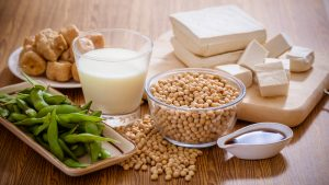 soy products taken with Malegenix to lower prostate cancer risk