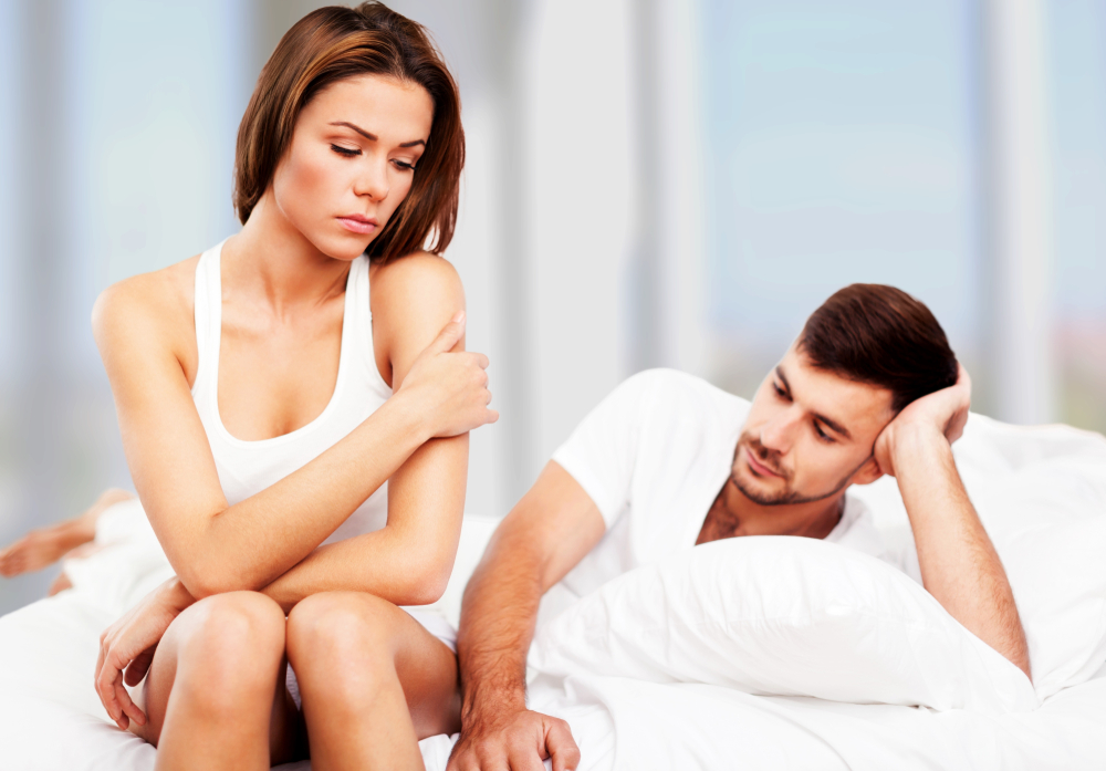 couple having problems in the bedroom should look at the benefits of Malegenix male enhancement supplement